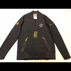 Nike Dallas Cowboys NFL Full Zip Jacket Sweater